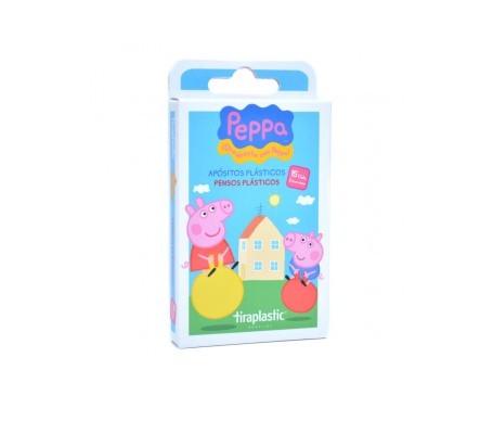 Tiraplastic tiras adhesivas infantiles Peppa Pig 15uds