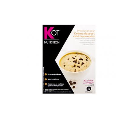 KOT preparación para crema café al estilo ópera 7 sobres