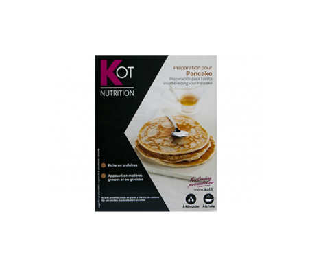 KOT preparación para tortita (pancake natural) 7 sobres