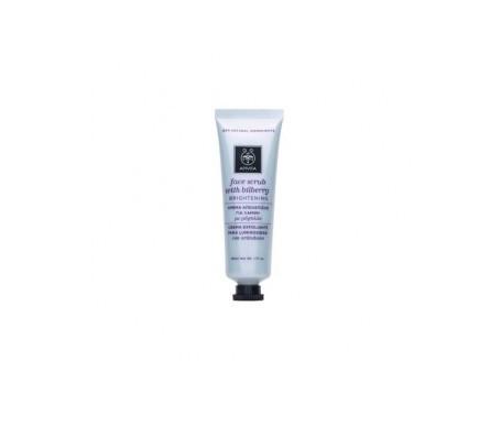 Apivita crema exfoliante facial iluminadora 50ml
