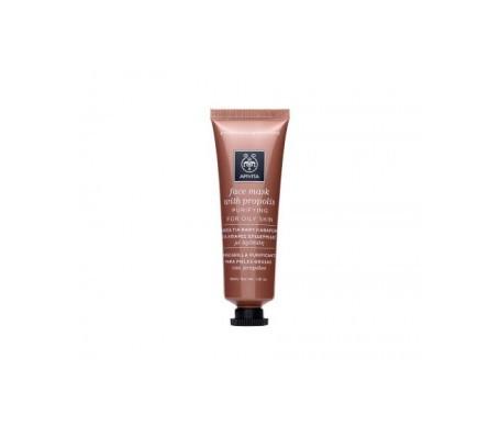 Apivita mascarilla facial purificante piel grasa con propóleo 50ml