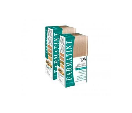 Farmatint 10N rubio platino 150ml+150ml