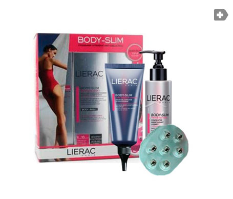 Lierac Pack Body-Slim intensivo día concentrado multi-acciones 200ml + sérum-gel exprés 100ml