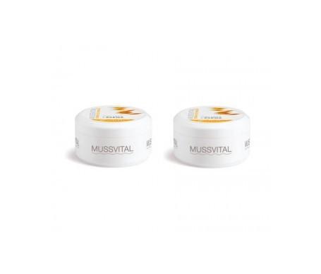 Mussvital crema de manos hidratante 200ml+200ml