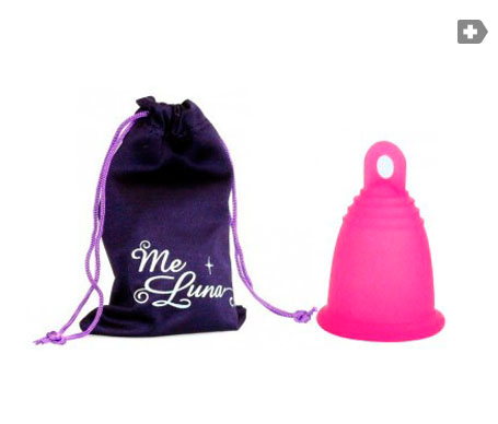 MeLuna coupe menstruelle Edition Limitée Fuchsia taille S ring finish 1 pc