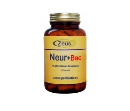 Zeus Neur+bac 30cáps
