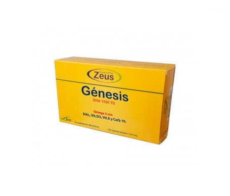 Zeus Genesis Dha Tg 1000 120cáps