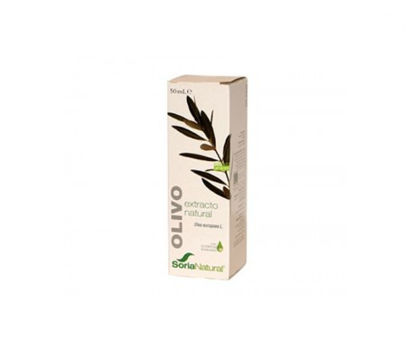 Soria Natural extracto de olivo 50ml