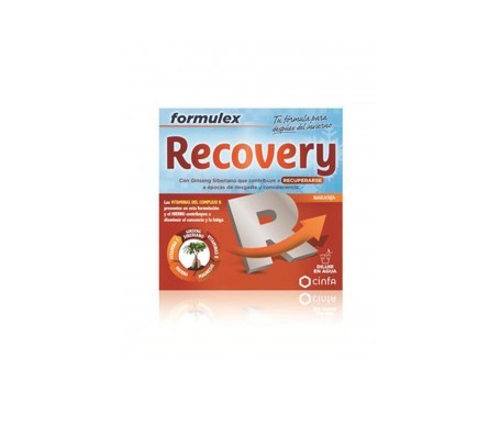 Formulex Recovery 14 enveloppes