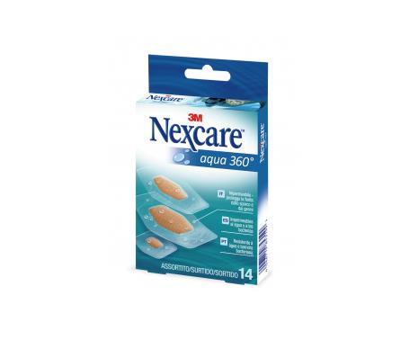 Nexcare® Aqua 360º tiras adhesivas surtido 14uds