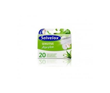 Salvelox Sensitive apósito adhesivo aloe vera 20uds