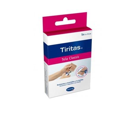 Hartmann tiritas® Tela Classic precortadas 5uds