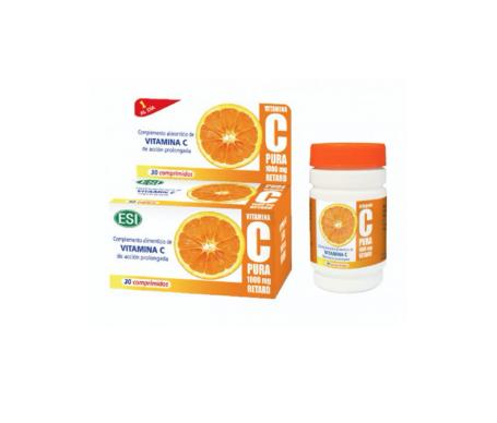 ESI vitamina C 30 tabletas