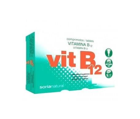 Soria Natural Vitamina B12 Comprimidos Retard 48comp
