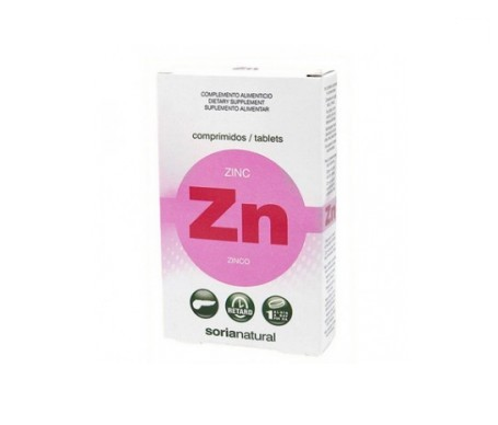 Soria Natural Zinc Comprimidos Retard 48comp