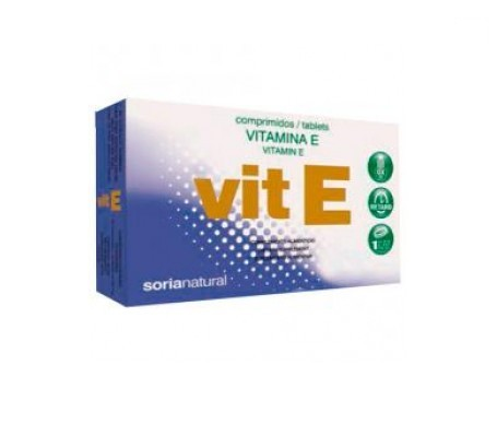 Soria Natural Vitamina E Comprimidos Retard 48comp