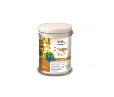 Dietisa Omega 3-6-9 60 perlas