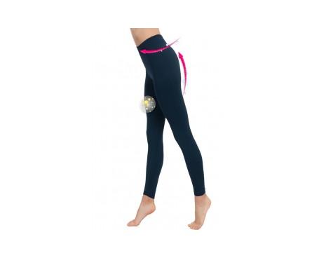 Anaissa leggings push up anticelulítico color marino talla-L