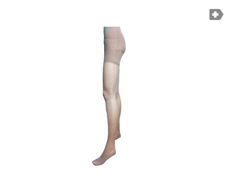 Anaissa panty terapéutico con lycra 140 compresión graduada color negro Talla-L