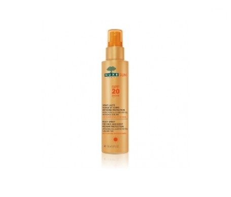 Nuxe Sun leche corporal y facial spray SPF20+ 150ml