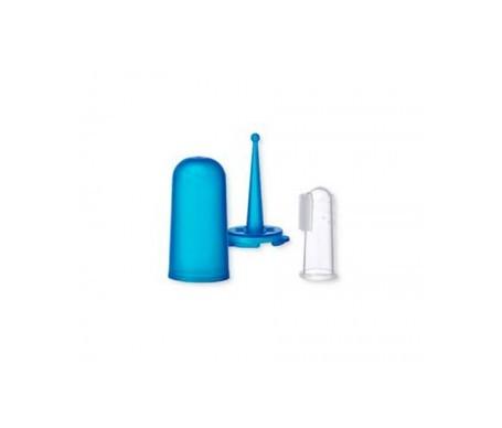 Saro cepillo de dientes dedal silicona 1ud