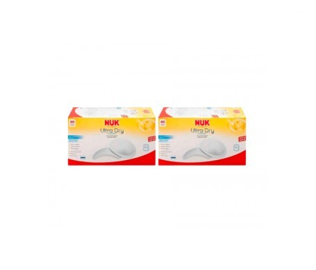 Nuk Ultra Dry discos protectores 60uds+60uds