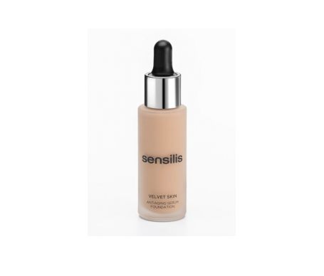 Sensilis Velvet Skin make-up base anti-âge 01 crème de maquillage anti-âge