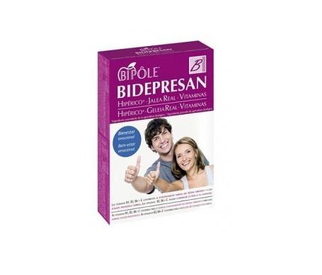 Bipole Bidepresan hipérico, jalea y vitaminas 20amp