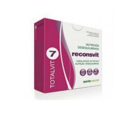 Soria Natural Totalvit 07 - Reconsvit 28comp