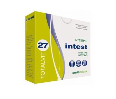 Soria Natural Totalvit 27 Intest 28comp