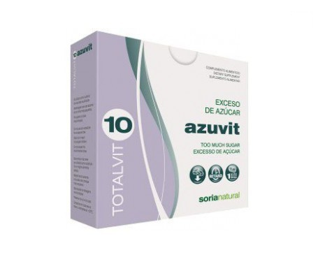 Soria Natural Totalvit 10 - Azuvit 28comp