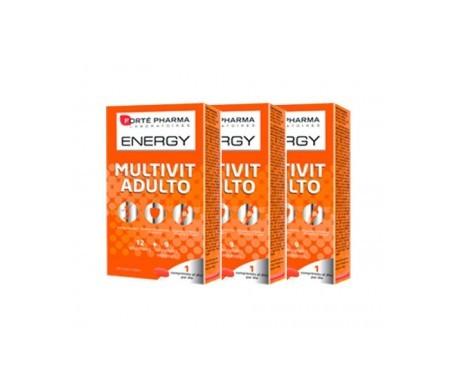Forté Pharma Energy Multivit adulto 3x28comp