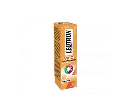 Leotron Vitamina C 18comp efervescentes