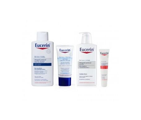 Eucerin® Oleogel ducha 400ml + loción 400ml + crema forte 40ml + crema facial 50ml