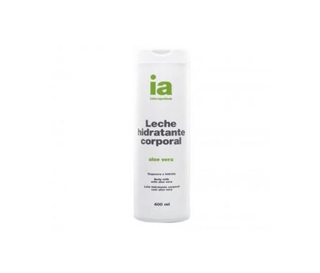 Interapothek leche hidratante corporal aloe vera 400ml