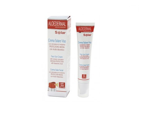 Aloedermal crema solar cara FPS20+ 75ml