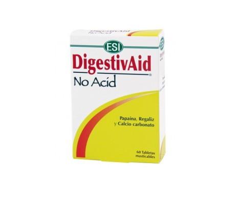 ESI Digestivaid No Acid 60 tabletas