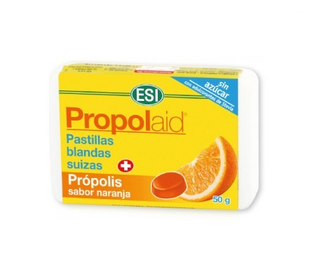 ESI Propolaid pastillas blandas naranja 50g