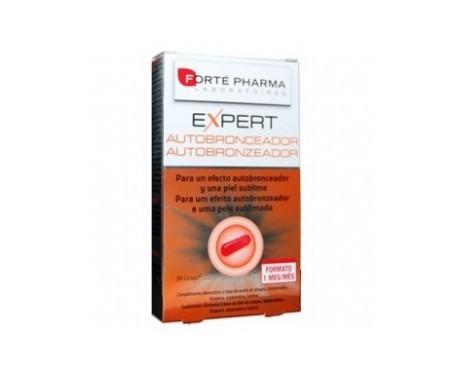 Forté Pharma Expert Autobronceador 30cáps