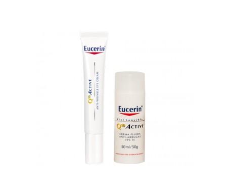 Eucerin™ Q10 Fluido attivo SPF15+ 50ml + contorno occhi 15ml
