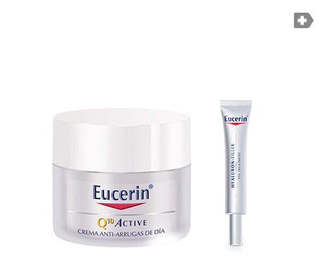Eucerin® Q10 Active contorno ojos 15ml + crema pieles secas 50ml