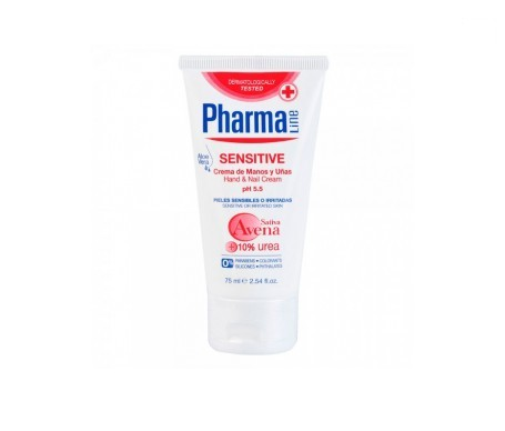 Pharmaline Sensitive crema de manos y uñas 75ml