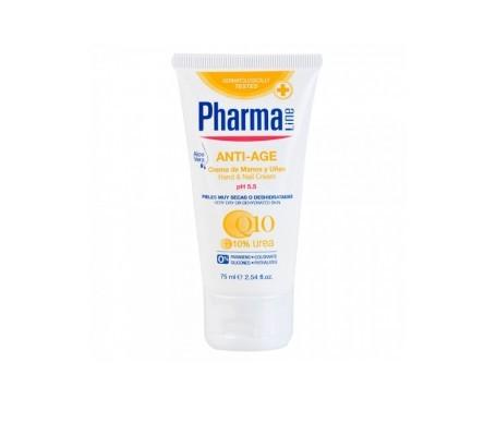 Pharmaline Antiedad crema de manos y uñas 75ml