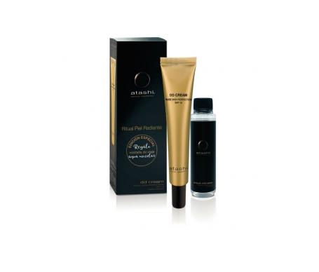 Atashi™ Zelluläre Kosmetik DD-Creme nackte Haut SPF15+ mittlerer Farbton 50ml