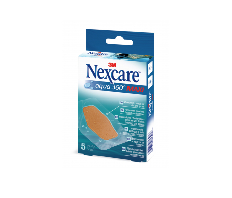 Nexcare® Aqua 360º tiras adhesivas maxi 10x6mm 5uds