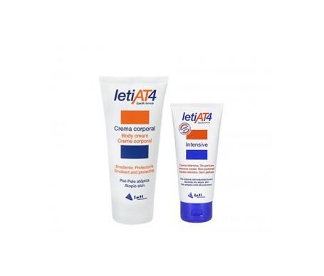 LetiAT4 crema emoliente 200ml + crema intensiva 100ml