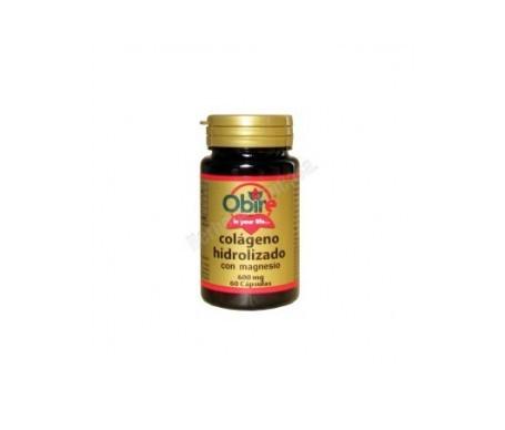 Obire Colágeno Marino Hidrolizado + Magnesio 60cáps