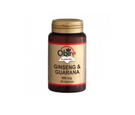 Obire Ginseng&Guaraná 90cáps