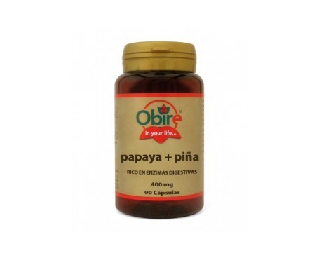 Obire Papaya + Piña 90cáps
