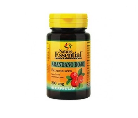 Nature Essential Arandano Rojo 5000mg (ext.seco). 60 Comp.